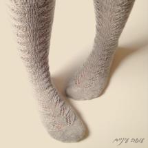 עושה עיניים - גרביים סרוגות || Osa Einaim - knitted socks