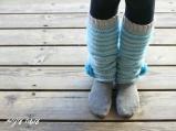 עושה עיניים - הוראות לסריגת חותלות || Osa Einaim - Crochet leg warmers pattern