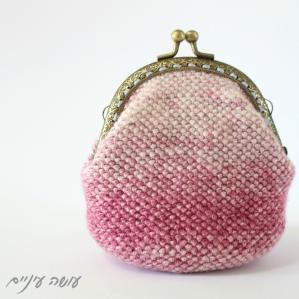 עושה עיניים - ארנק סרוג במסרגה אחת || Osa Einaim - Crochet purse