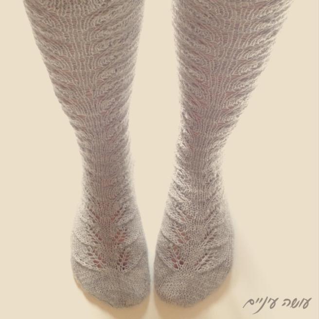 עושה עיניים - גרביים סרוגים || Osa Einaim - knitted socks