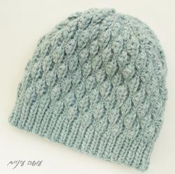 עושה עיניים - תרגום הוראות לסריגת כובע Wynn