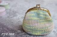 עושה עיניים - ארנק סרוג    OsaEinaim - knit purse