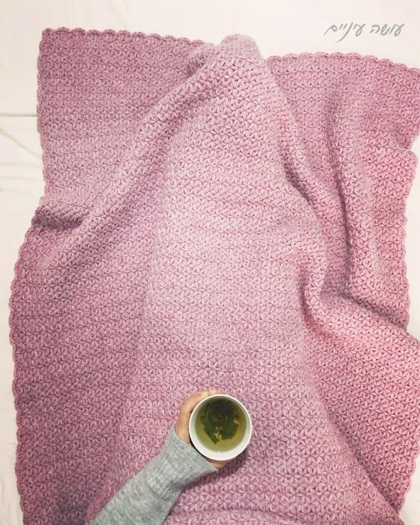 עושה עיניים - הוראות לסריגת שמיכת הכוכבים || OsaEinaim - Crochet stars blanket pattern